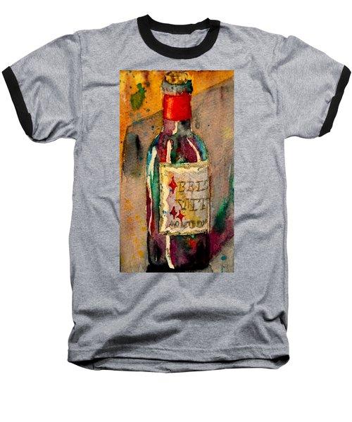 Baseball T-Shirt featuring the painting Bella Vita by Beverley Harper Tinsley