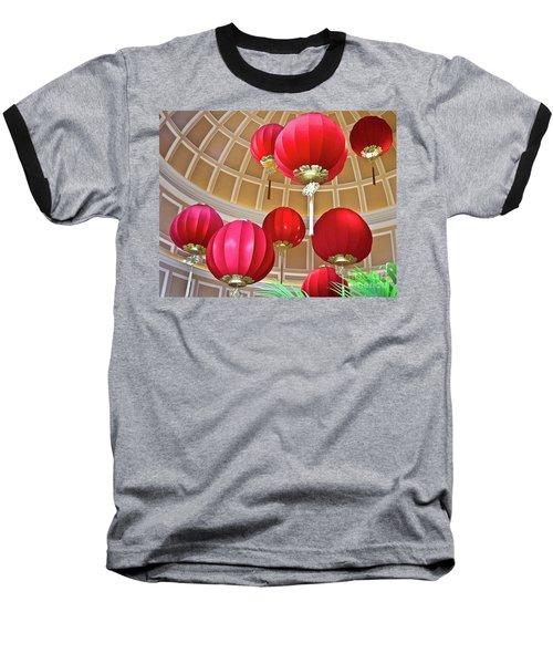 Bellagio Rotunda - Las Vegas Baseball T-Shirt