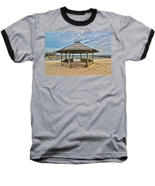 Bellport Ny - Gazebo Baseball T-Shirt