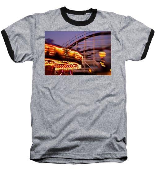 Did I Dream It Belmont Park Rollercoaster Baseball T-Shirt