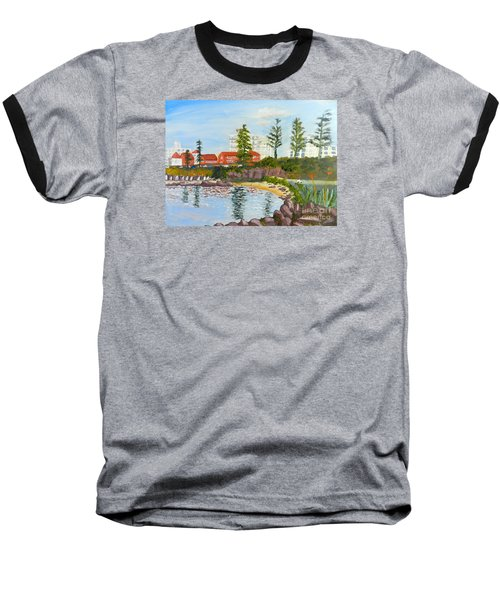 Belmore Basin From The North Sea Wall Baseball T-Shirt by Pamela  Meredith