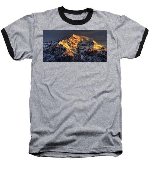 Ben Lomond Sunrise Baseball T-Shirt