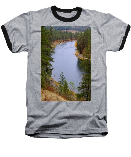 Bend In The River Baseball T-Shirt