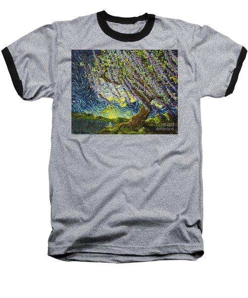 Beneath The Willow Baseball T-Shirt
