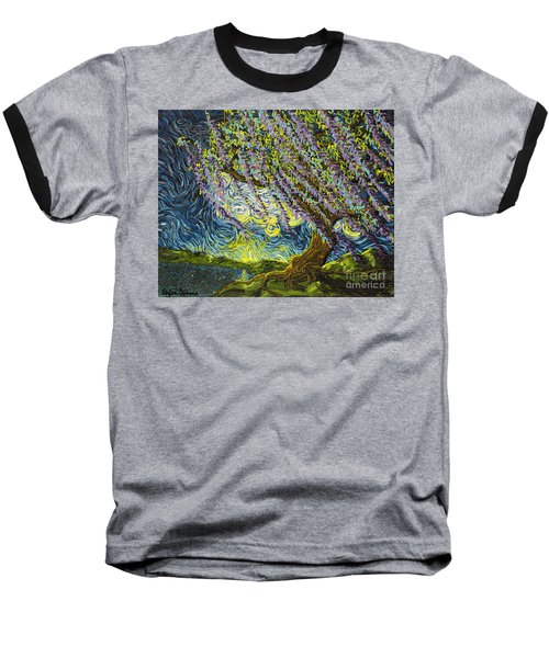 Beneath The Willow Baseball T-Shirt