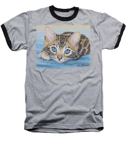 Bengal Kitten Baseball T-Shirt