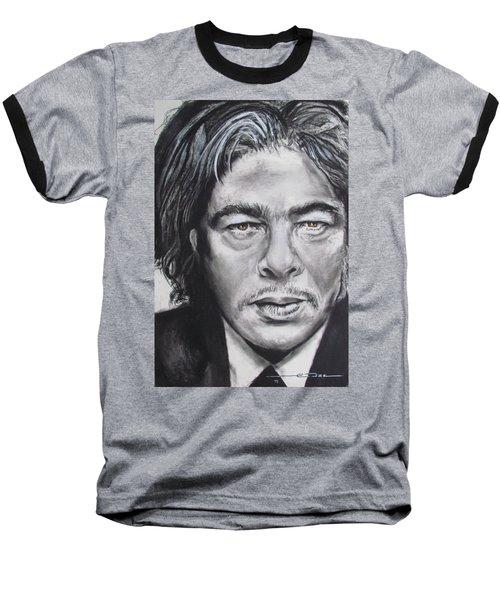 Benicio Del Toro Baseball T-Shirt