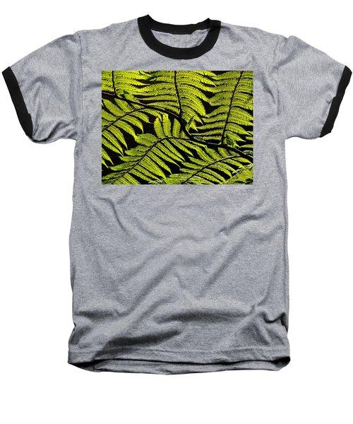 Bent Fern Baseball T-Shirt