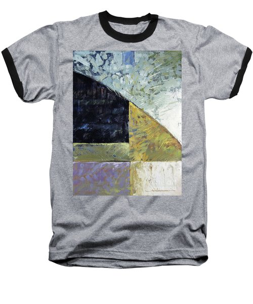 Bent On Abstraction Baseball T-Shirt