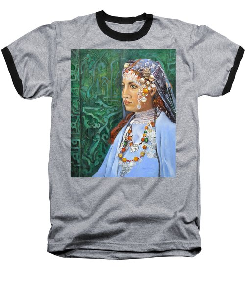 Berber Woman Baseball T-Shirt