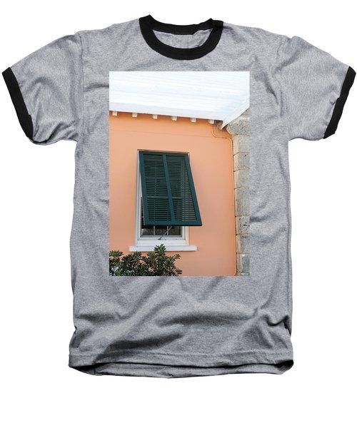 Bermuda Shutters Baseball T-Shirt