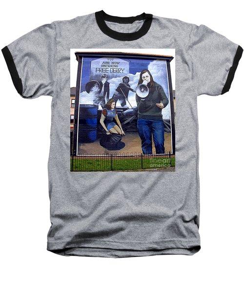 bernadette II Baseball T-Shirt by Nina Ficur Feenan