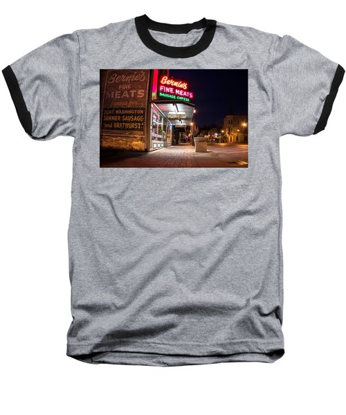 Bernies Fine Meats Signage Baseball T-Shirt