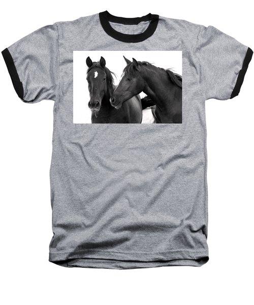Best Buds Wild Mustang Baseball T-Shirt