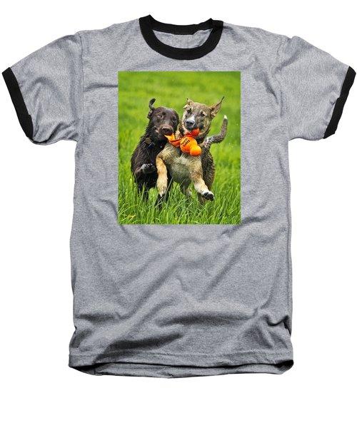 Best Friends 2011 Baseball T-Shirt by Joan Davis