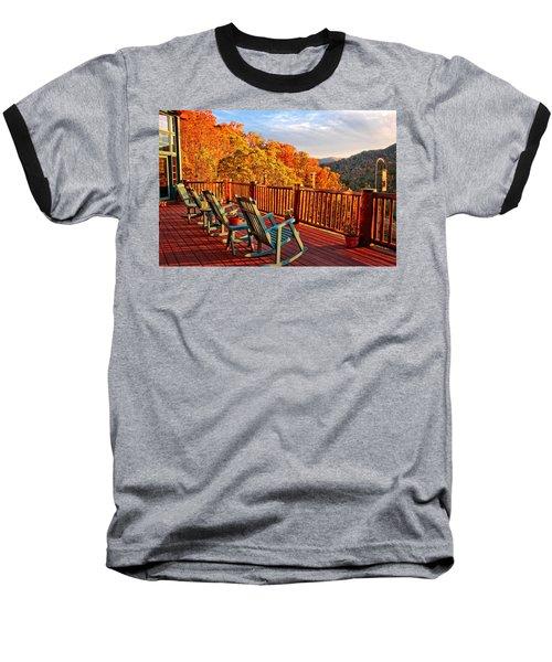 Best View In Town  Baseball T-Shirt