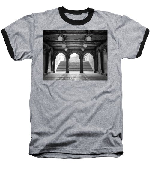 Bethesda Passage Central Park Baseball T-Shirt