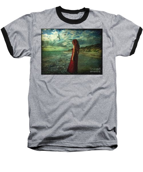 Between Sea And Shore Baseball T-Shirt