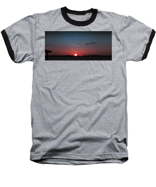 Between The Light And The Dark Baseball T-Shirt