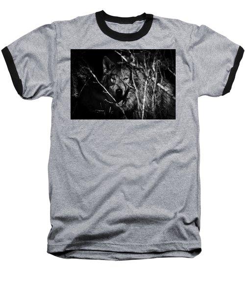 Beware The Woods Baseball T-Shirt