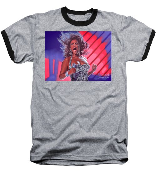 Beyonce Baseball T-Shirt by Paul Meijering