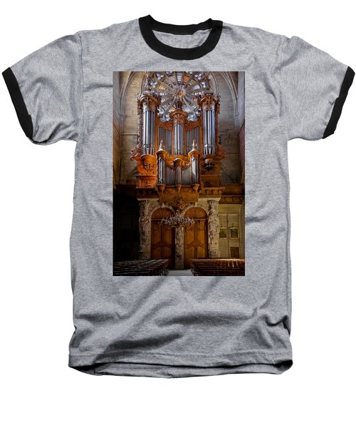 Beziers Pipe Organ Baseball T-Shirt