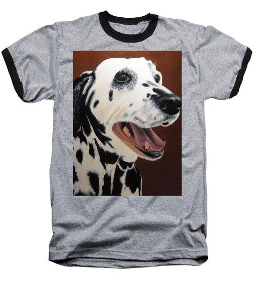 Bianca Rob's Dalmatian Baseball T-Shirt