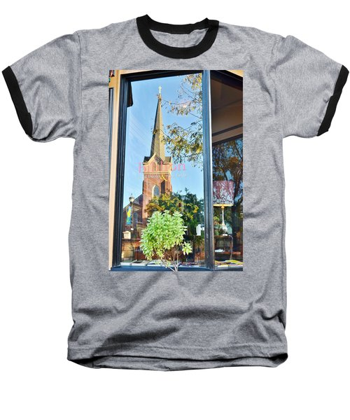 Biblion Used Books Reflections 3 - Lewes Delaware Baseball T-Shirt