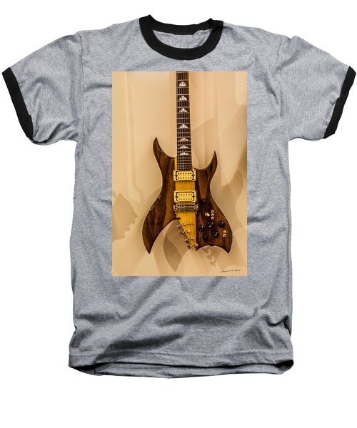 Bich Electric Guitar Colored Baseball T-Shirt