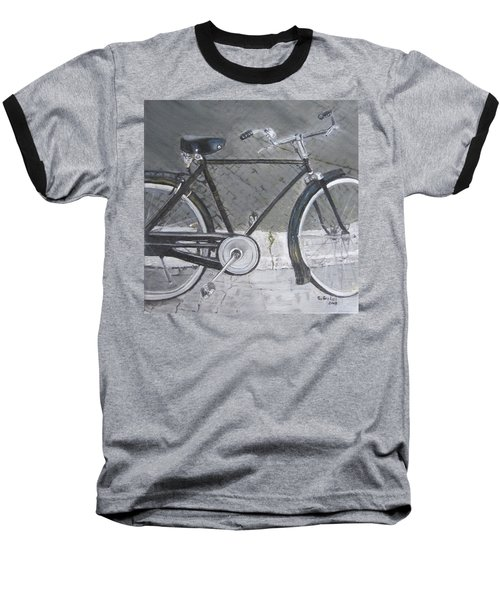 Bicycle In Rome Baseball T-Shirt