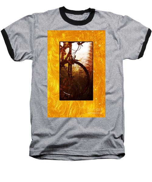 Baseball T-Shirt featuring the photograph Bicycle  by Randi Grace Nilsberg