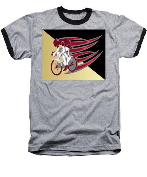 Bicycle Rider 01 Baseball T-Shirt