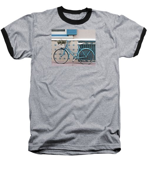 Vintage Bicycle Photography - Bicycles Are Not Only For Summer Baseball T-Shirt
