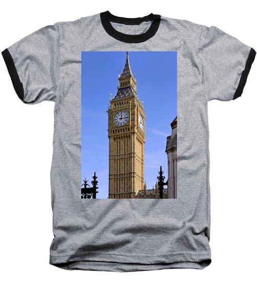 Big Ben Baseball T-Shirt by Stephen Anderson