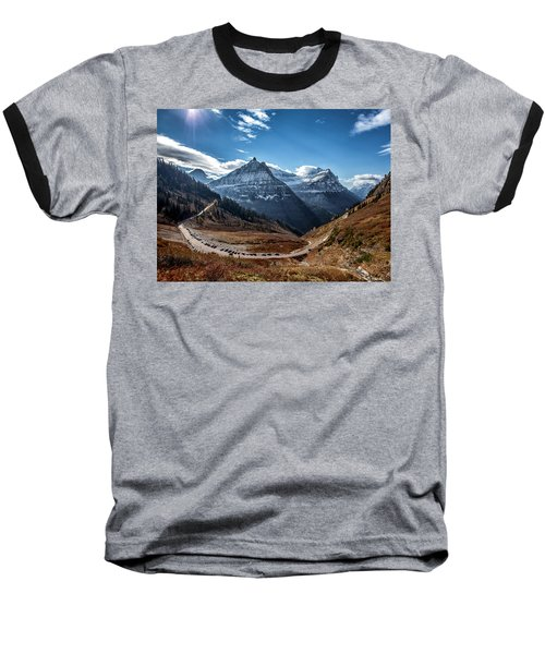 Baseball T-Shirt featuring the photograph Big Bend by Aaron Aldrich