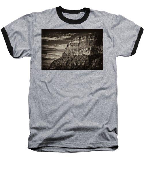 Big Bend Cliffs Baseball T-Shirt