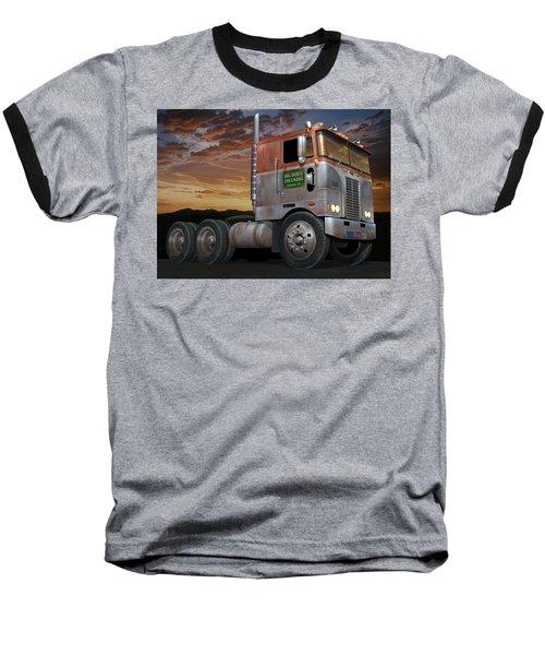 Big Bob's Cabover Baseball T-Shirt by Stuart Swartz