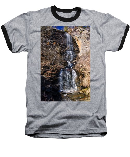 Big Bradley Falls 2 Baseball T-Shirt by Chris Flees