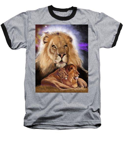 Third In The Big Cat Series - Lion Baseball T-Shirt