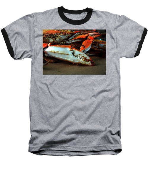 Big Crab Claw Baseball T-Shirt