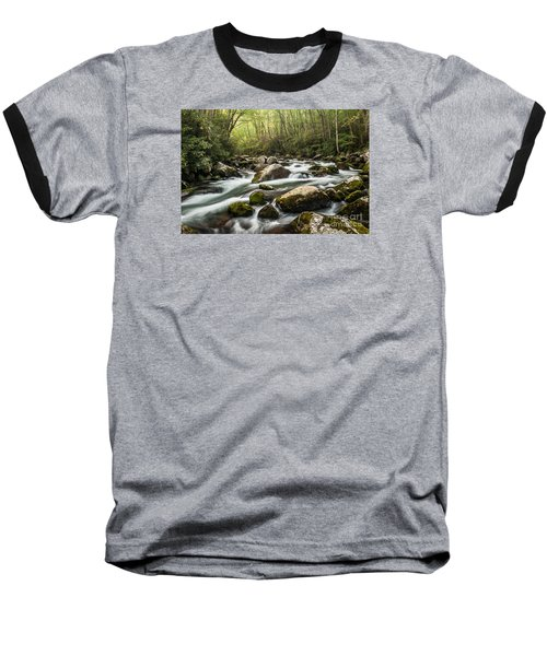 Baseball T-Shirt featuring the photograph Big Creek by Debbie Green