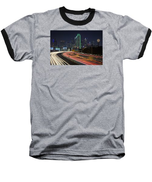 Big D Baseball T-Shirt by Rick Berk