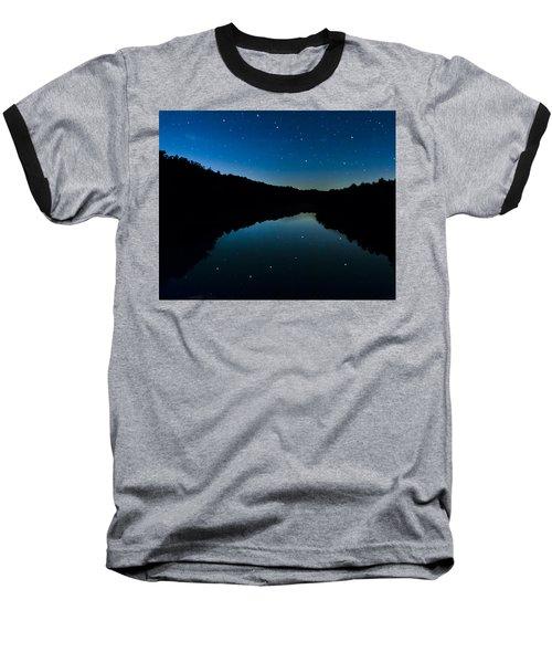Big Dipper Reflection Baseball T-Shirt