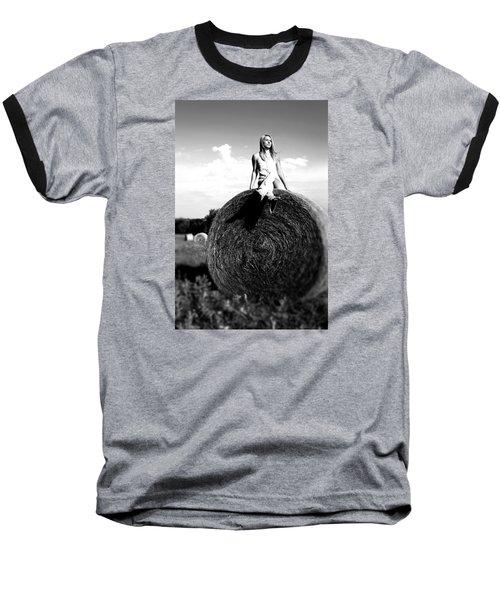 Big Dreams Bw Baseball T-Shirt