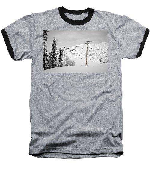 Big Horn Sheep Hinton Hillside Baseball T-Shirt