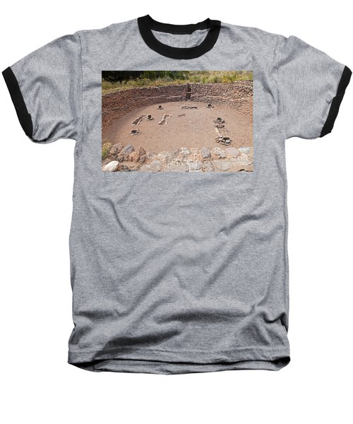 Big Kiva Bandelier National Monument Baseball T-Shirt