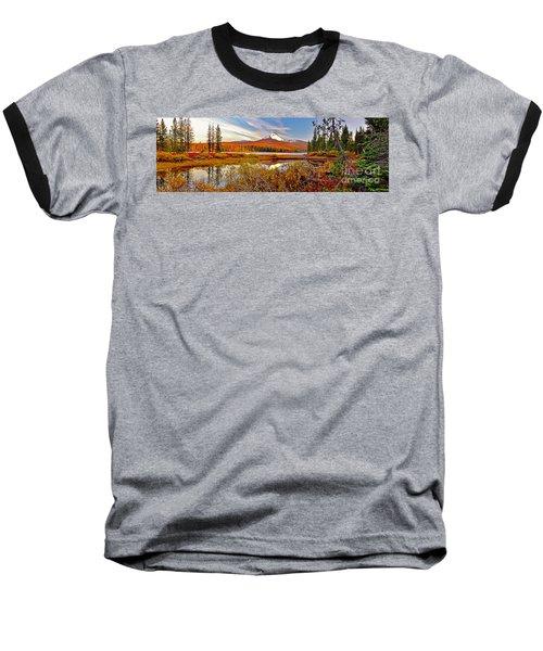 Big Lake And Mt Washington Oregon Baseball T-Shirt