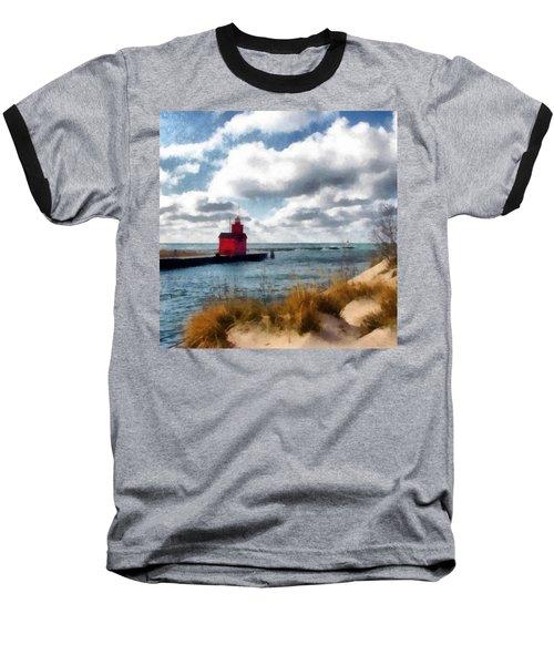 Big Red Big Wind Baseball T-Shirt