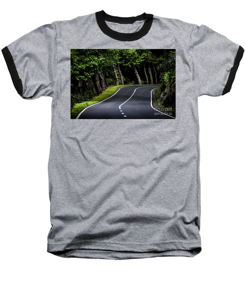 Big  Road Baseball T-Shirt
