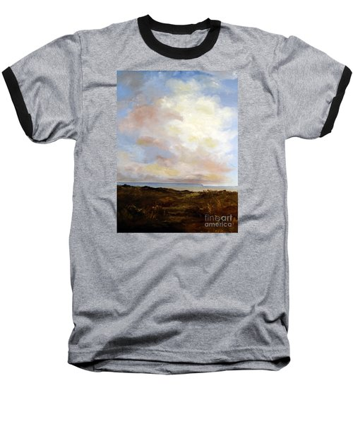 Big Sky Country Baseball T-Shirt by Lee Piper